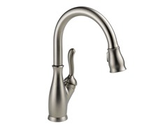 Leland Single Handle Kitchen Faucet, Stainless