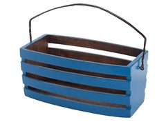 Hamptons Blue Tomato Bucket