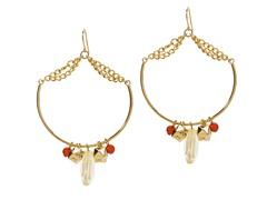 Relic Big Hoop Earrings, Gold