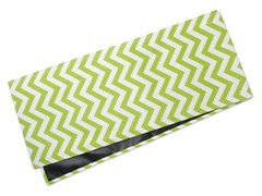Chevron Table Runner-Chartreuse