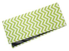 Chevron Table Runner-Chartreuse