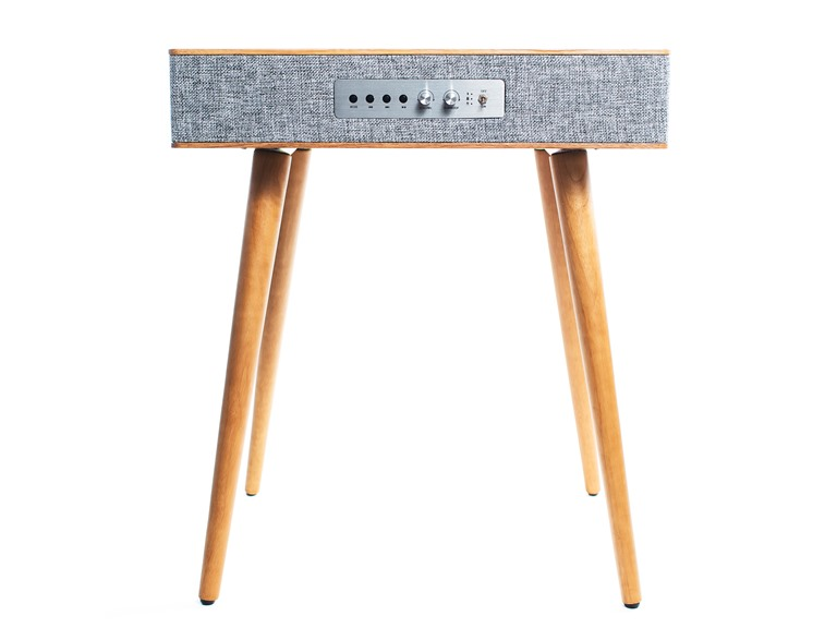 Sierra Modern Home Speaker Table w/ Qi Charging