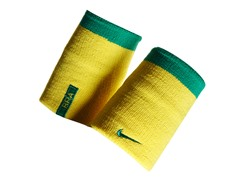 Doublewide Wristbands - Yellow/Green