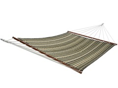 Double Quilted Hammock, Grenada Stripe