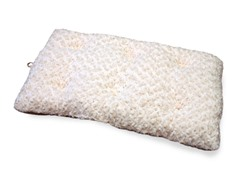 PAW Lavish Cushion Pillow Furry Pet Bed - Latte