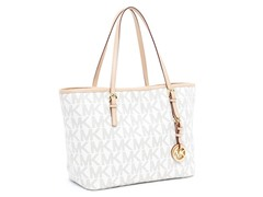 Michael Kors Jet Set Travel Small Tote, PVC Logo