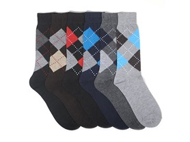 Focus Men's or Women's 6-Pack Socks - Your Choice