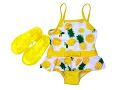 Wippette Pineapple Swimsuit Set (12M-3T)
