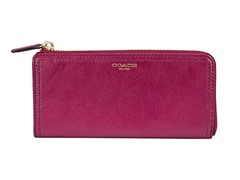 Coach Legacy Leather Slim Zip Wallet