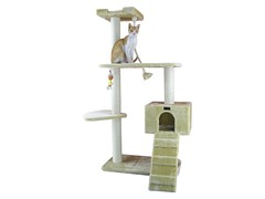 "58"" Cat Tree Condo - Beige"