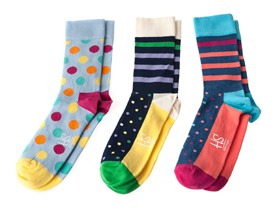 HS by Happy Socks Ladies 6-Pack