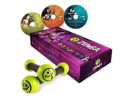 Zumba Exhilarate Body Shaping 3-DVD Kit