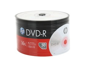 HP DVD-R 16X 4.7GB 50-Pack Spindle