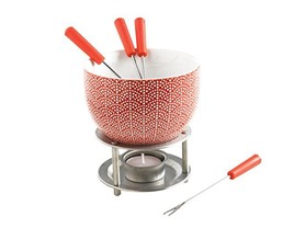 Mastrad Chocolate Fondue Set rising sun