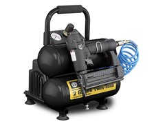 2-Gallon Air Compressor, Twin Tank
