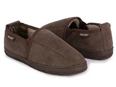 Eric Double Gore Berber Suede Slip-On