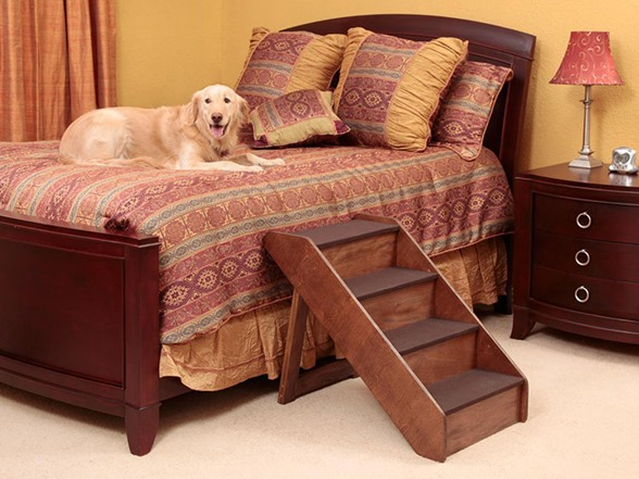 Extra Large Pupstep Wood Stairs