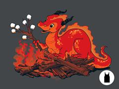 Smore the Dragon Unisex Tank