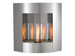 Inspiration Gel Fireplace Stainless