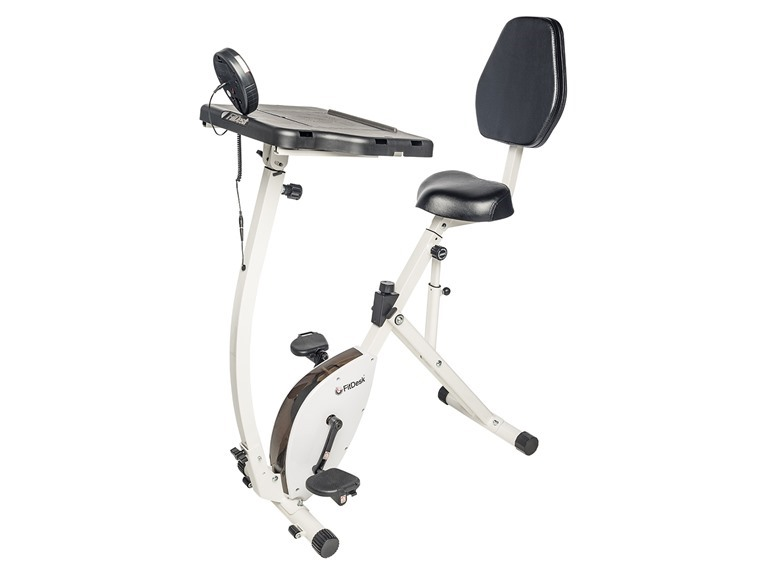 FitDesk 4010 Recumbent Bike with Desk