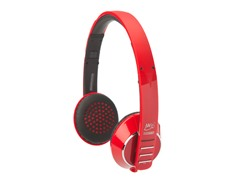 Bluetooth Headphones - Red/Black