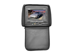 "7"" DVD Headrest Monitor - Black"