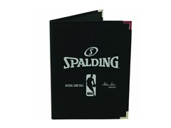 "Spalding NBA 8.5""x11"" Padfolio - Black"
