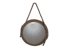 "24"" Mirror Sticked Light Brown Linen String"