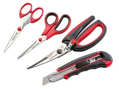 4-Piece Scissors and Snap-Off Knife Set