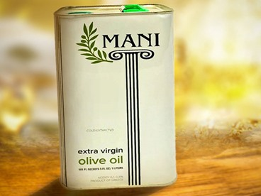 Mani Greek Extra Virgin Olive Oil, 3L