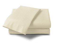 300 Thread Count Cotton Sateen Sheet Set  - Bone
