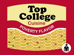 Top College Cuisine Hoodie