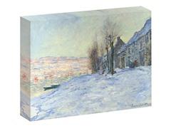 Monet Lavacourt, under Snow, ca. 1878-1881 (2 Sizes)