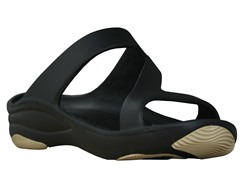 Women's Premium Z Sandal, Black / Tan