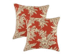 Bellingrath Tuscan 17x17 Pillow-Set of 2