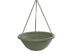 6PK Hanging Planter, 17-Inch, Green