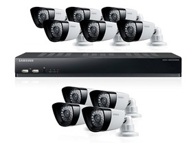 Samsung 16CH/10Cam DVR Security System w/ 1TB HD