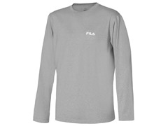 Hurdle Long Sleeve Top - Grey