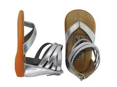 Squeaker Shoe - Berkeley, Slvr (Tod 3-8)