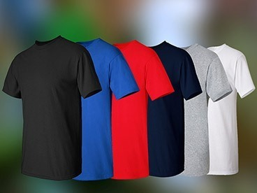 Men's Alstyle Apparel T-Shirts, 6 Pack