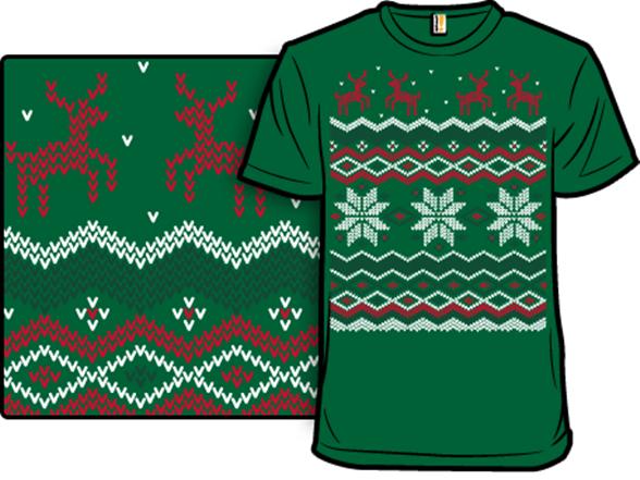 ugly holiday sweater 2007 - Ugly Christmas Tee Shirts