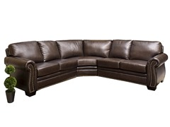 Santa Monica Leather Sectional