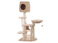 "Eco Paper & Sisal 4-Level Cat Condo 54"" H"