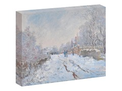 Monet Snow at Argenteuil, 1875