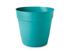 15-Inch Basic Planter, 6-Pack, Turquoise