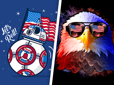 Shirts for the 4th of July