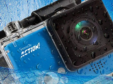 SereneLife 4K UHD Action Cams
