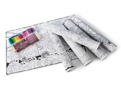 Giant Wall Posters 6 Pack + 50 Pack of Markers
