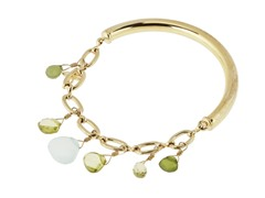 Relic RJ1468710 Gold Stretchable Bracelet