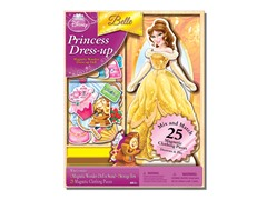 Disney Belle 25 Piece Wood Magnetic Play Doll